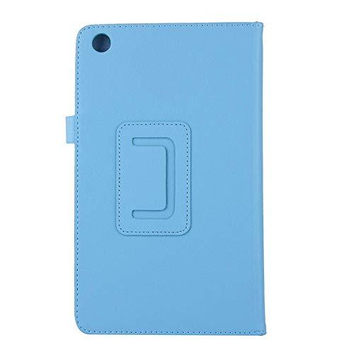 Pineapplen Custodia per Tablet Custodia per Tablet Custodia per Tablet con Supporto per Tablet per Tab M7 TB-7305F / 7305X Custodia per Tablet PC da 7 Pollici (Blu Cielo)