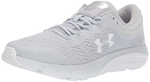 Under Armour Women's Charged Bandit 5 Running Shoe, Halo Gray (100)/Mod Gray, 8.5