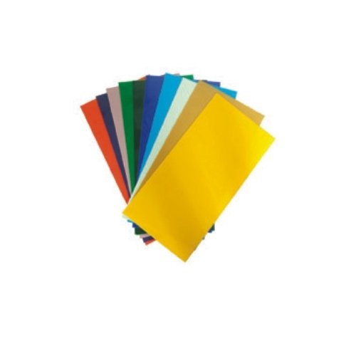 TrendLight Verzierwachs Uni farbig Sortiert 10er Pack 200x100 mm – Wachsplatten zum Kerzen dekorieren