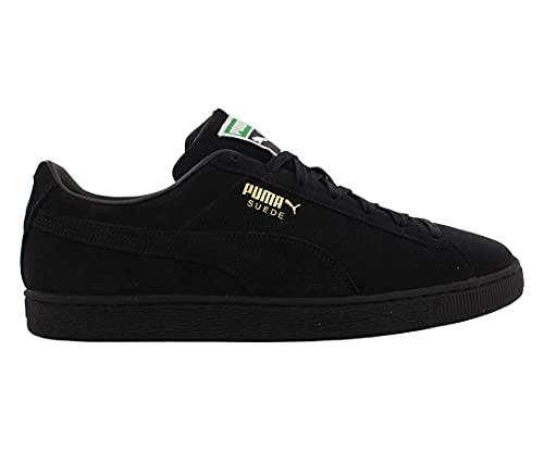 PUMA Mens Suede Classic XXI Black Size 10.5