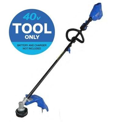 Lowest Price! Kobalt 40-Volt Max 16-in Straight Cordless String Trimmer with Attachment Capable Shaf...