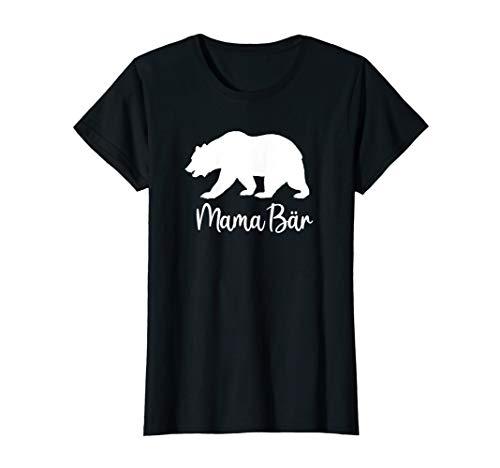 Damen Mama Bär Beste Mutter Muttertag Eltern Geschenk Geburtstag T-Shirt