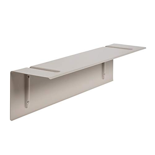 HAY Brackets Incl. Wandregal 80x20cm, beige pulverbeschichtet
