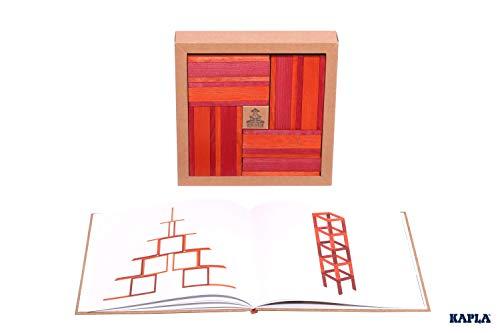 KAPLA 40 Steine, rot und orange + Buch - 2