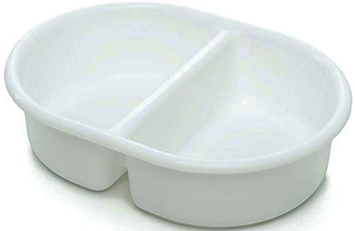 The Neat Nursery Co. Neat Nuresery Oval Top 'n' Tail Wash Bowl, 956 White, 0.3 kg 5055378200953