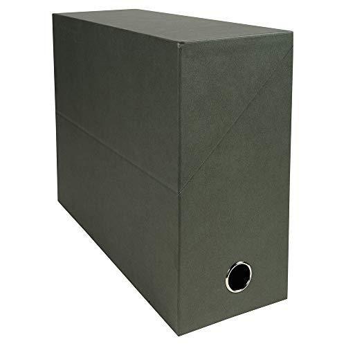 Exacompta 83143E Transferbox, 12 cm, donkergroen