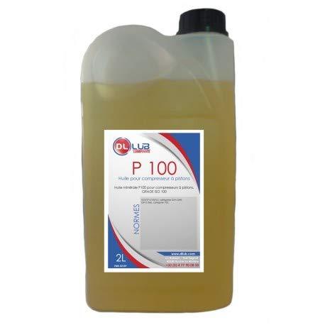 Dllub - Huile minérale pour compresseur d'air, 2L
