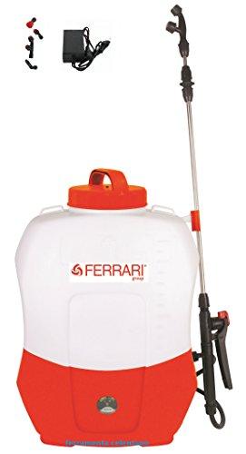 Ferrari Bomba DE Mochila con BATERÍA DE Litio 16 LT Bomba de Hombro eléctrica