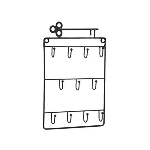 Max-Tonsen Montado en la Pared 11 Porta Llaves Organizador de Bolsillo para la Entrada Cocina Decoración de la Oficina en casa