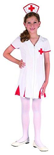 Generique - Krankenschwester Kostüm für Mädchen 134/140 (10-12 Jahre)