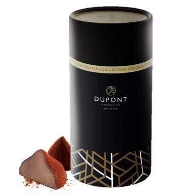 Chocolats Belgique - truffes chocolat cadeau. Cappuccino, cacao, dames blanches (Cacao, 175 Gram)