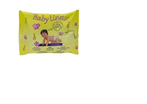 Baby Lindo - Toallitas recambio para bebe, aloe vera