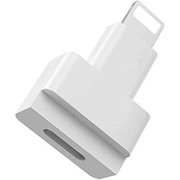 Access ライトニング 延長 アダプタ ホワイト マイクロファイバークロス付 充電 + データ伝送 ライトニング コネクタ for iPhone/iPad/iPodに対応 E-iP14W-A