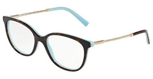 Occhiali da vista Tiffany DIAMOND POINT TF 2168 HAVANA TURQUOISE 52/17/140 donna