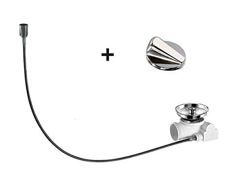 Blanco Exz. Nachrüstset-Ablauffernbedienung für Favos Silgranit PuraDur II, silber, 224661