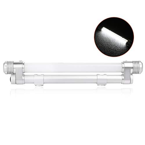 Wayup LED Work Light, 12 Inch Truck Bed Utility Light Magnetic Mount LED Illuminator Lamps Portable Battery Powered LED Utility Lantern for Under Hood, Camping, Boat, Caravan, UTV Bed