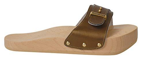 Lanaform Dynastatic ® - Chaussures Minceur Anti-Cellulite/Effet raffermissant (Golden Brown, Numeric_36)