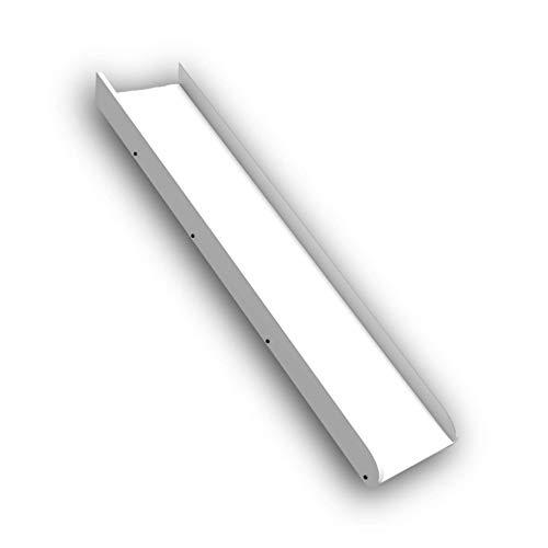 Stella Trading KENI Rutsche passend zum Hochbett - Spaßige Kinder Etagenbett Rutsche aus massiver Kiefer, weiß - 36 x 9 x 149 cm (B/H/T)