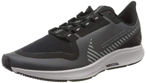 Nike Men's Air Zoom Pegasus 36 Shield Running Shoe, Cool Grey/Silver-Black-VAST GR, 9 UK