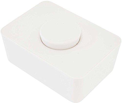 ls014wh/ウエットティッシュホルダー シリコン蓋 単品(ホワイト)