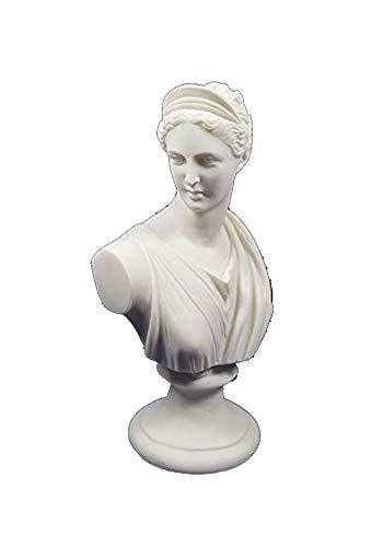 Estia Creations Artemis Diana Büste Skulptur antiken griechischen Göttin der Jagd-Statue