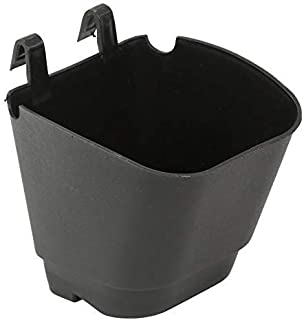 Vertical Garden Wall Hanging Pot (Black-Set of 10 Qty)