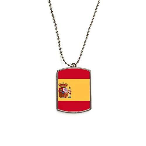 Collar Bandera España  marca DIYthinker