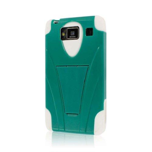 MPERO Impact X Series Kickstand Hülle Tasche Hülle for Motorola Droid RAZR MAXX HD XT926 - Teal Grün