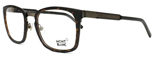 Mont Blanc Brillengestelle MB0612-52-54 Monturas de gafas, Marrón (Braun), 54.0 para Hombre