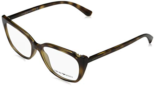 Ray-Ban Damen 0EA3109 Brillengestelle, Braun (Dark Havana), 52
