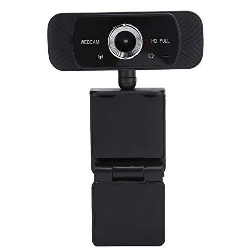 Jinyi Cámara Web, cámara Web en Vivo Multifuncional sin Controladores, Compatible con Software de videoconferencia para computadora