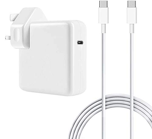 YWCKING Mac Book Pro Charger USB C 87W, USB-C Power Adapter Compatible with Mac Book Pro/Air, Works with Other USB C Tablets, iPad Pro, and Smart Phone