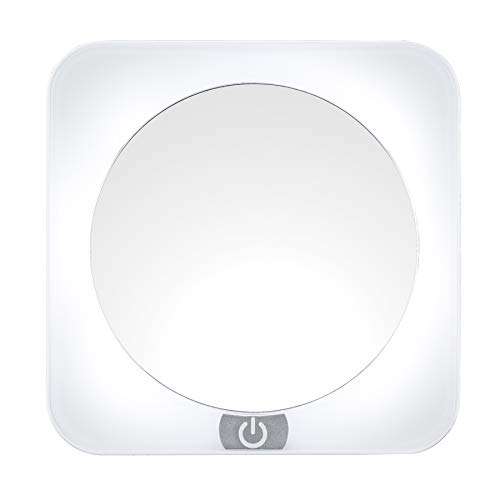 Conair Reflections 12X LED Spot Mirror Lighted Makeup Mirror