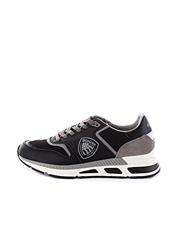 Blauer S1HILO01/CAL Sneakers Basse Uomo Nero 40