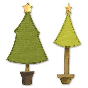 Sizzix Bigz Die - Trees, Christmas by Sizzix