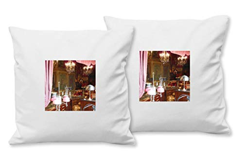 Glücksvilla Künstler-Foto-Kissen Set B, (2 STK.) 40 x 40 cm, Premium Zierkissen Motiv: Wie in...