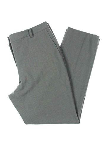 DKNY Womens Gray Skinny Wear to Work Pants Size 16