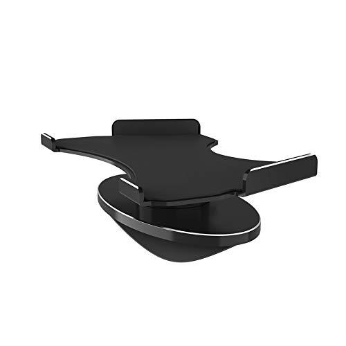 WEIWEITOE-DE Haltbare 360-Grad-Rotation Aluminiumlegierung Halterung Leichte Halterung Basis Geeignet für Amazon Echo Show Zubehör, schwarz,