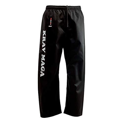 Skm Sport Pantalon Krav Maga AB002-AMZ, Noir , S6