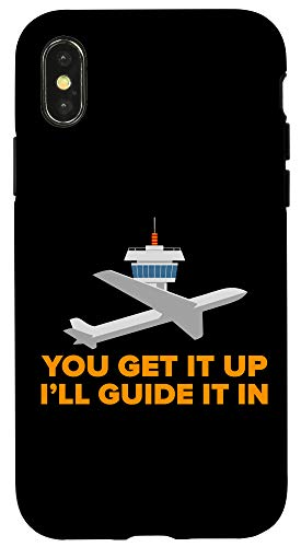 iPhone X/XS Air Traffic Controller I'll Guide It In Airplane ATC Control Case