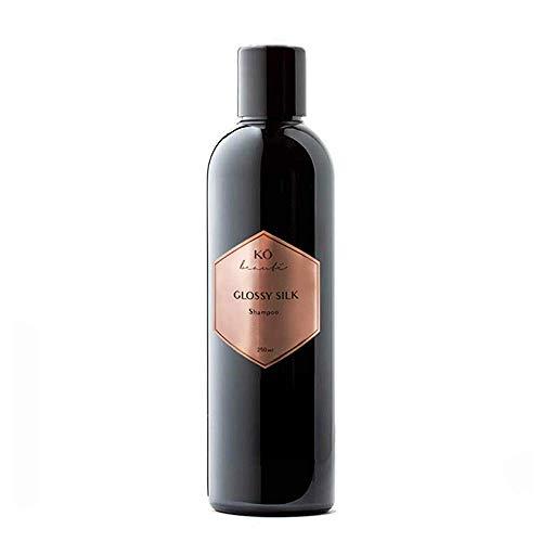 KÖ beauté Glossy Silk Shampoo 250 ml Pflegeshampoo mit Moringaöl für widerspenstiges und störrisches Haar, leichte Kämmbarkeit, ohne Silikone, mehr Textur und Griffigkeit, verbessertes Styling