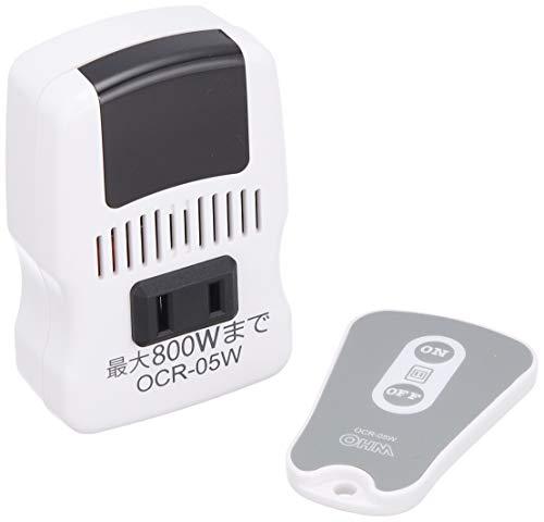 『オーム電機 電機器具専用 リモコンコンセント [品番]07-8251 OCR-05W 白』のトップ画像