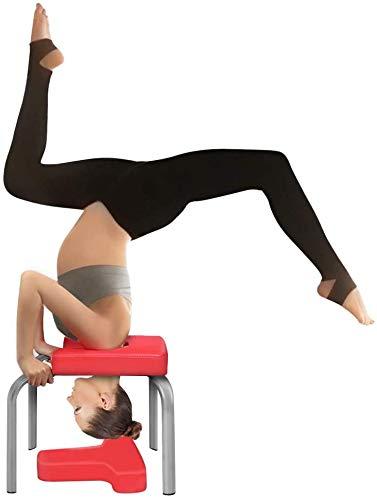Yoga Kopfstand Bankständer Yoga Stuhl Balanced Body Yoga Inversionsstuhl Übungskopfstand, Schulterstand, Handstand für Familientraining Fitness und Fitnessstudio