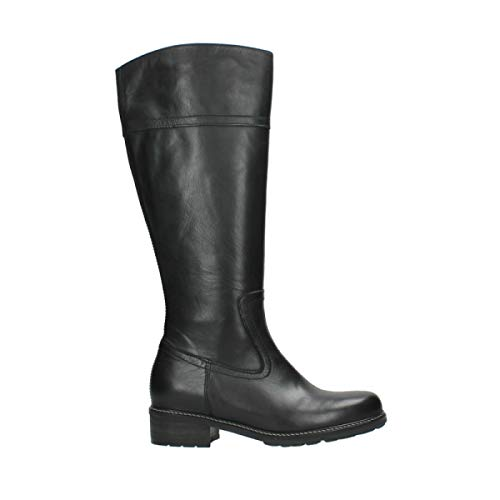 Wolky Comfort Stiefel Moher - 32000 schwarz Leder - 39