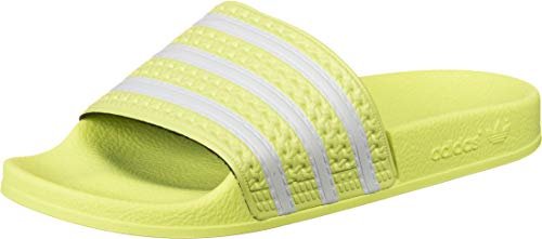 adidas Damen Adilette Slide Sandal, Gelb (Yellow Tint/Footwear White/Yellow Tint), 37 EU/4.5 UK
