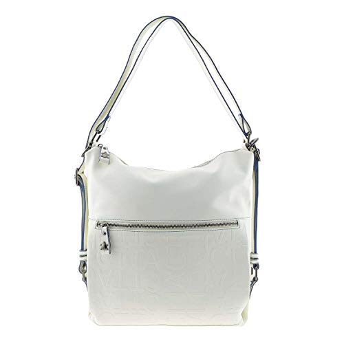 CAMINATTA S6804 Oasis Bolso y Mochila Blanco para Mujer