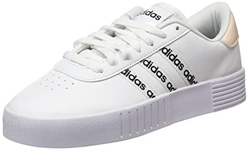adidas Court Bold, Zapatillas de Deporte Mujer, FTWBLA/FTWBLA/NEGBÁS, 36 EU
