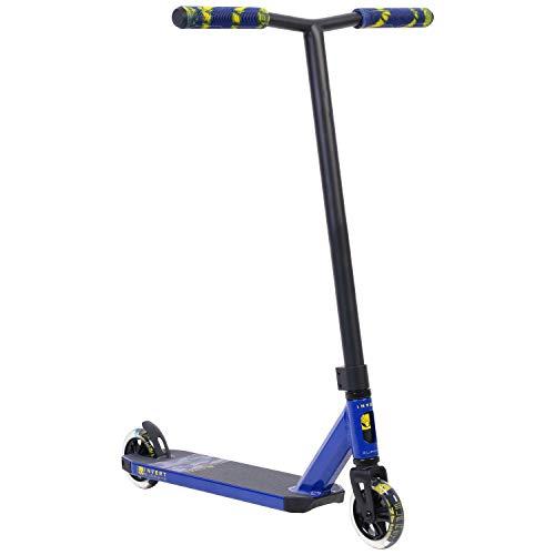 Invert Supreme Stunt Scooter - Patinete infantil (2-8-13), color azul y amarillo