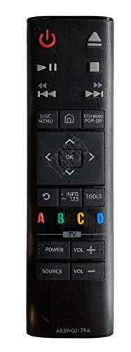 BELIFE® Ersatz Fernbedienung passend für Samsung Blu-Ray AK59-00179A - UBD-K8500 | UBD-K8500/EN | UBD-K8500/XN | UBD-K8500/ZA | UBD-K8500/ZF