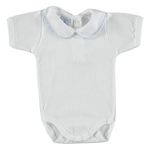 BABIDU 1181 Ajustado, Celeste, 9 Meses Unisex bebé